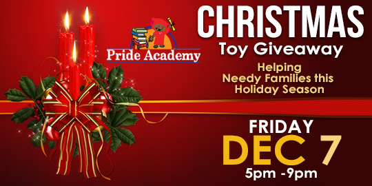 Christmas Toy Giveaway